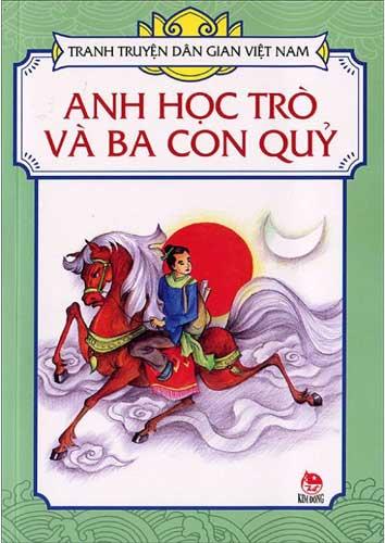 đọc truyện cổ tích người học trò và ba con quỷ