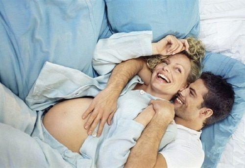 Tư thế quan hệ khi mang thai 3 tháng cuối
