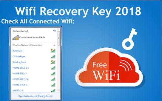 wifi recovery key 2018
