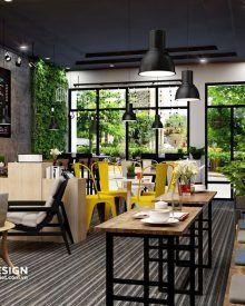 Thiết kế quán café