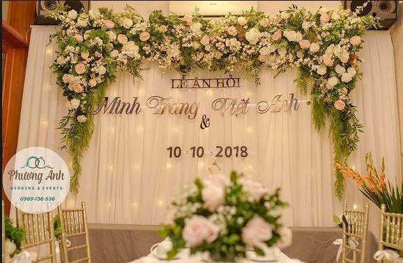 backdrop trong đám cưới