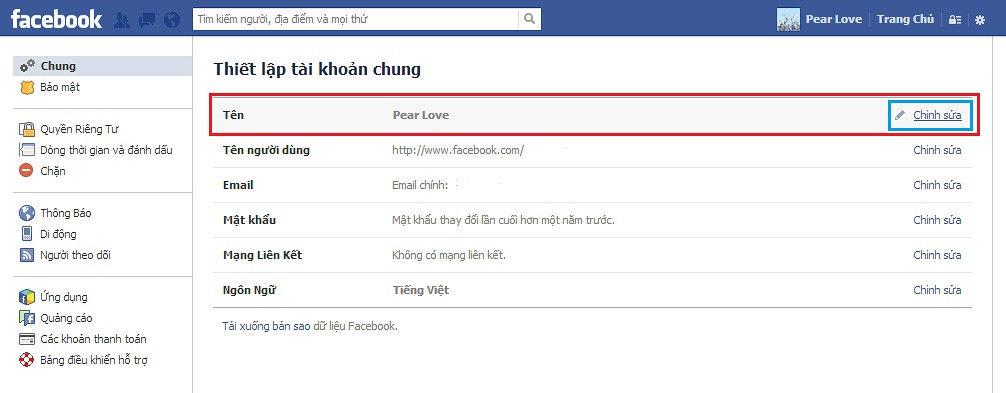 Tên Facebook hay, ý nghĩa, độc đáo | Đổi tên facebook 3