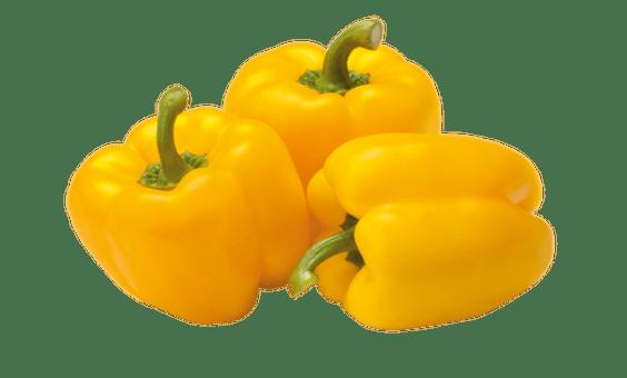 ăn gì để kích thích mọc tóc - ớt chuông vàng là thực phẩm kích thích mọc tóc