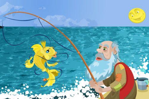Truyện cổ tích ông lão đánh cá và con cá vàng