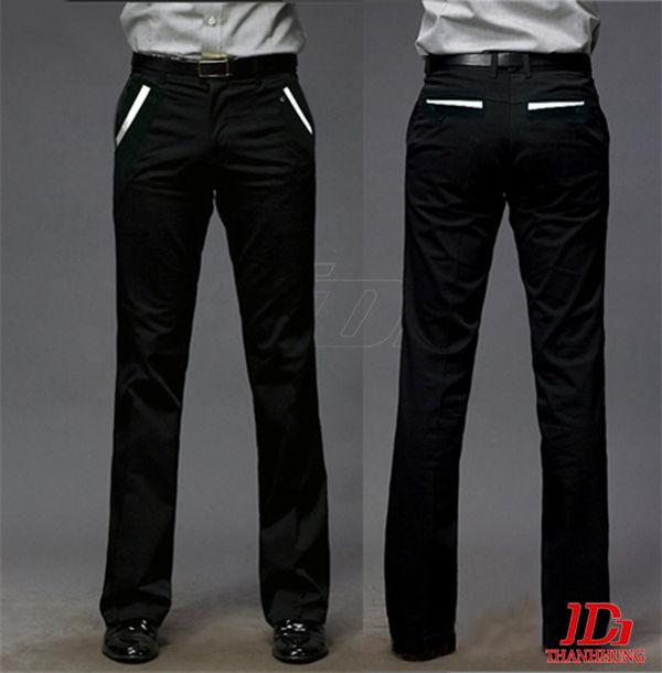 May quần đồng phục công sở nam