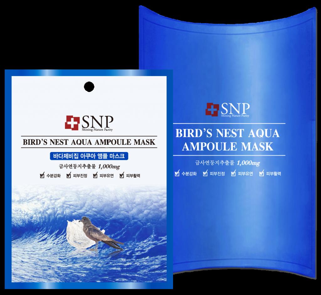 Mặt nạ tổ yến Bird's Nest Aqua Ampoule Mask