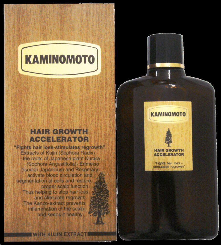 Thuốc mọc tóc KaminomotoHair Growth Accelerator kích hoạt chân tóc, tạo sức đề kháng cho từng sợi tóc mọc nhanh,