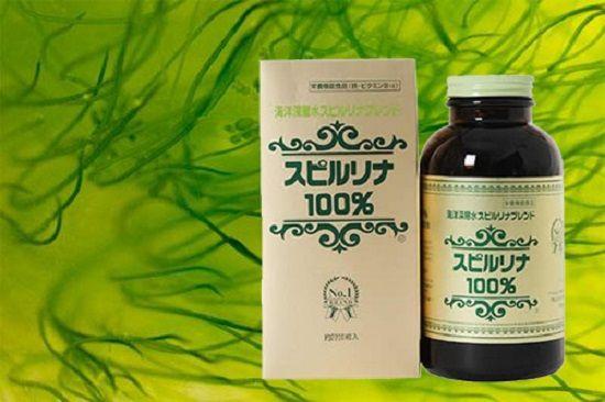 Tác dụng của tảo xoắn Spirulina Nhật Bản