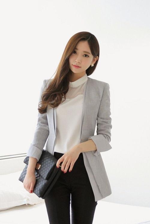 Thời trang công sở Thu Đông 2014 đẹp như Hàn Quốc cho Nữ 1