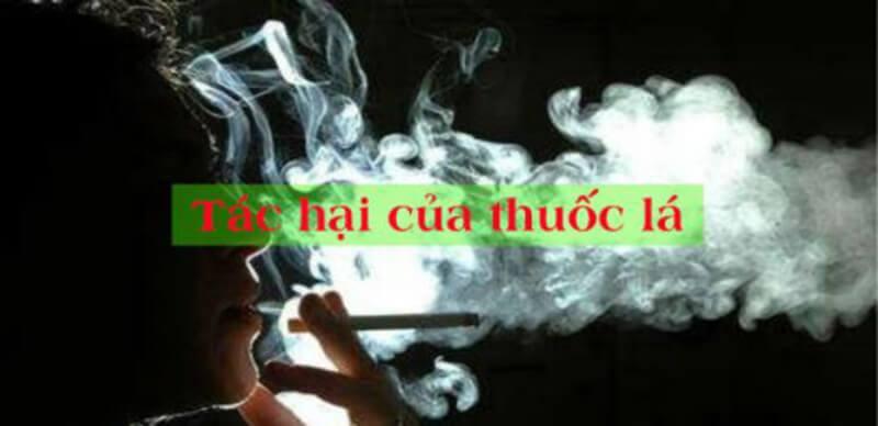 Các tác hại của thuốc lá