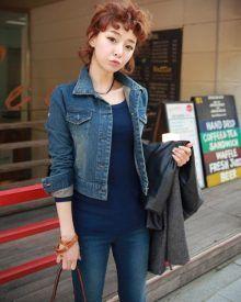 Áo khoác jeans/bò/denim nữ đẹp! Cách phối áo khoác jean