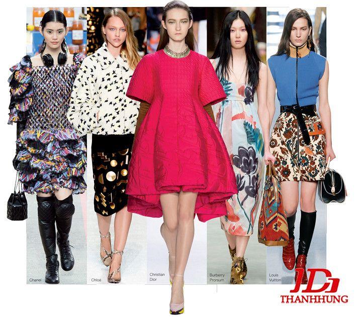 Xu hướng thời trang Thu Đông năm nay cực HOT