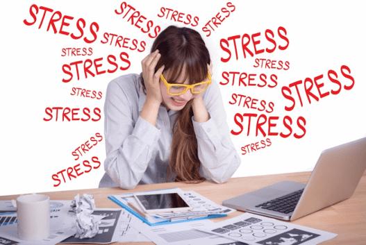 Rụng tóc do stress gây ra