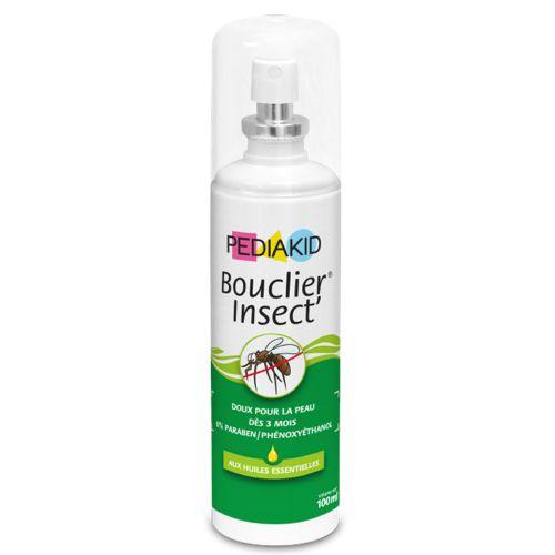 Xịt chống muỗi và côn trùng Pediakid Bouclier Insect là một trong những sản phẩm đến từ nước phát xa xôi, được người tiêu dùng yêu thích, lan truyền nhanh sang một số nước trong đó có việt nam được sản xuất trên công nghệ hiện đại,an toàn nhất là da của trẻ nhỏ