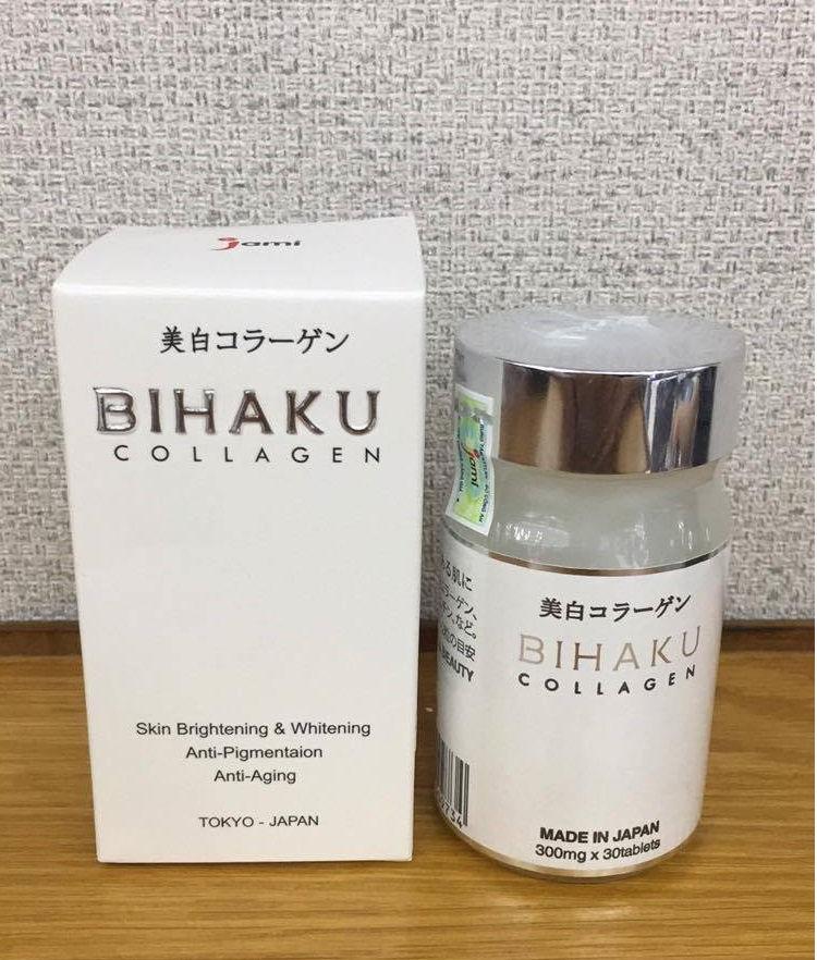 viên uống trắng da bihaku giúp bạn tỏa sáng với làn da trắng mịn , không tỳ vết , an toàn không gây nên các tác dụng phụ ngăn ngừa mụn hiệu quả.