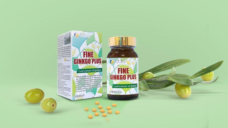 viên uống bổ não Fine Ginkgo Plusnhật bản
