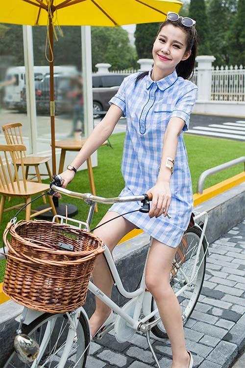 Mê mẩn áo kẻ sọc/ngang Nữ, Sơmi kẻ Hàn Quốc tuyệt đẹp 9