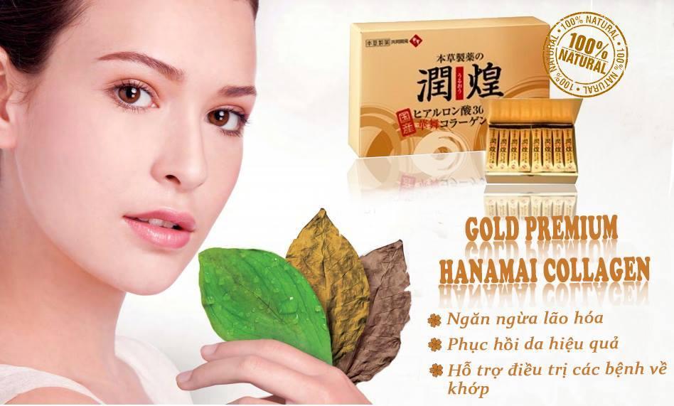 Review 4 loại collagen của hãng Hanamai Nhật Bản