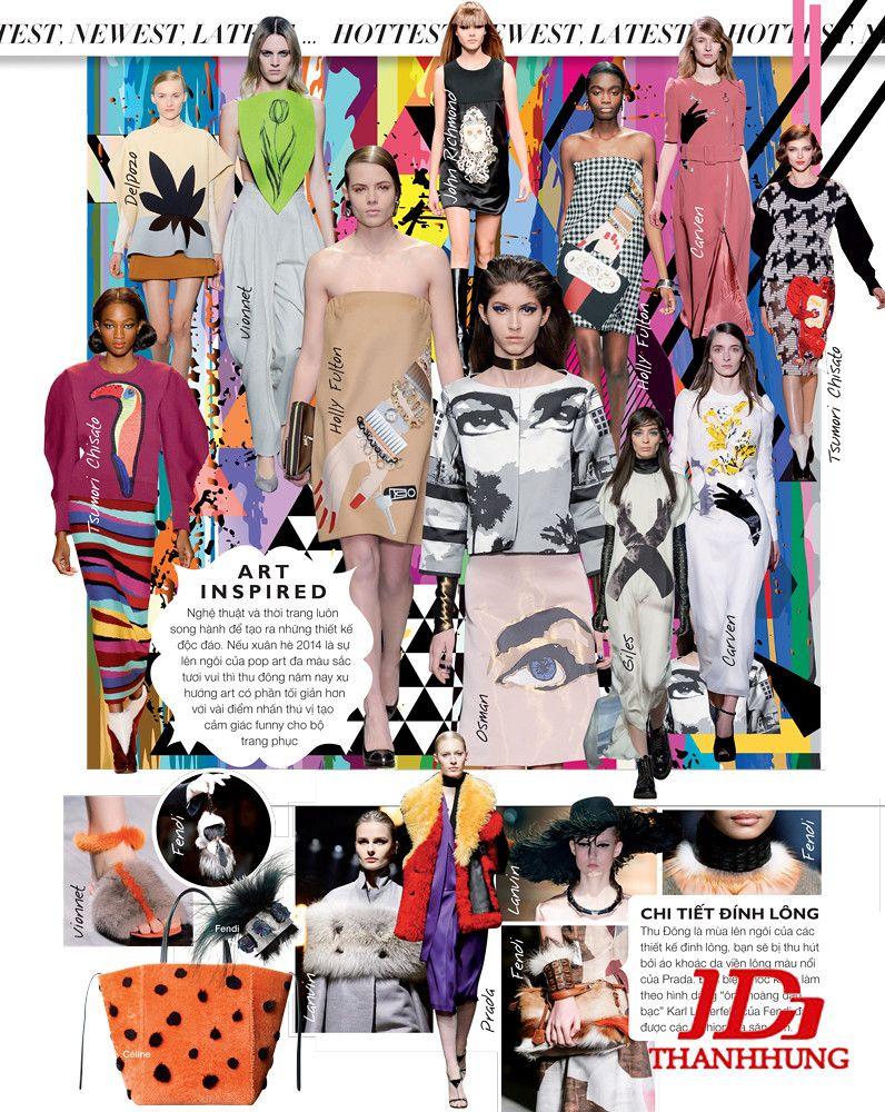 Xu hướng thời trang Thu Đông năm nay cực HOT 2