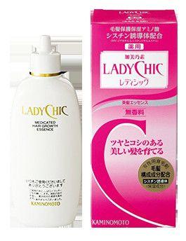 thuốc mọc tóc kaminomoto ladychic ra đời trở thành cứu tinh cho các chị em phụ nữ đang sống chung với mái tóc rụng , xơ rối