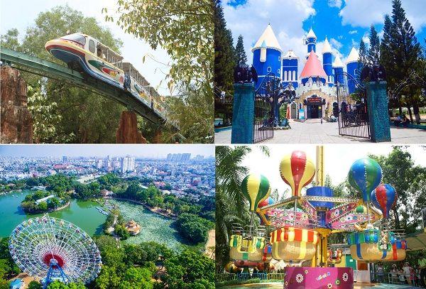 Top 5 Khu Vui Chơi Giải Trí Nổi Tiếng Nhất TP. Hồ Chí Minh 2