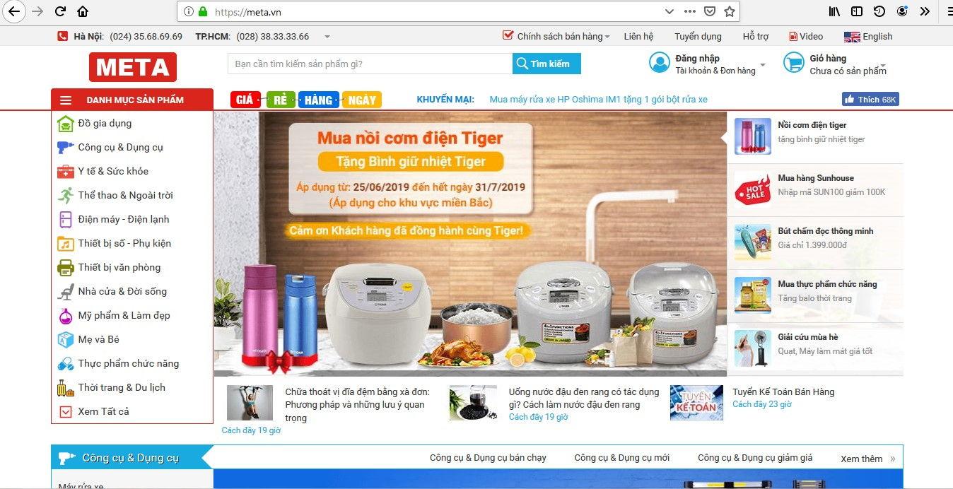 Top 5 Website Bán Máy Hút Bụi Uy Tín Nhất 5