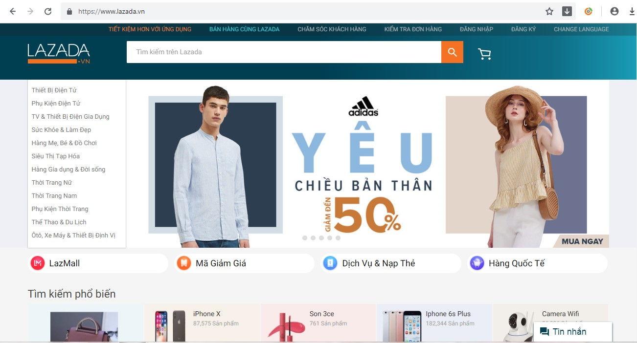 Top 5 Website Bán Máy Hút Bụi Uy Tín Nhất 3