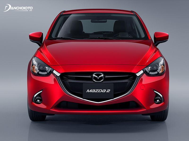 Mazda 2 2019 duoc trang bi he thong den pha cong nghe LED hien dai