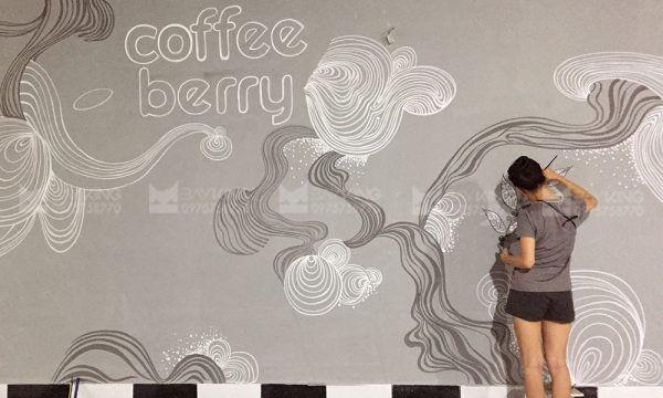 Lợi ích khi vẽ tranh tường quán cafe