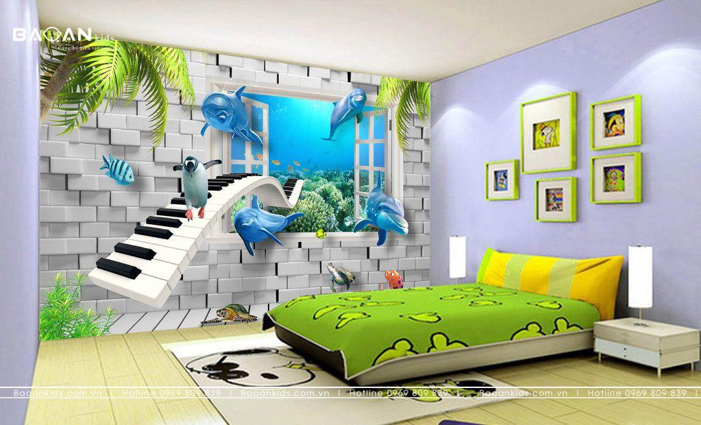 Lợi ích vẽ tranh tường phòng ngủ là gì ?