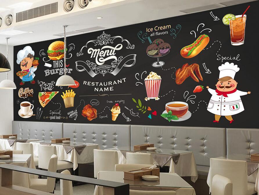 Mẫu tranh vẽ tường cho quán cafe đẹp nhất