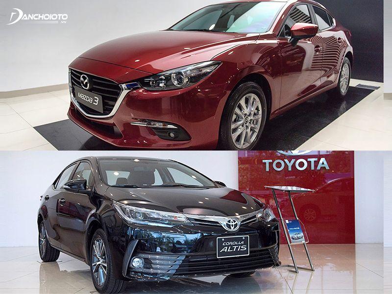 So sánh Mazda 3 và Toyota Corolla Altis: Xe nào nhiều công nghệ hiện đại hơn?