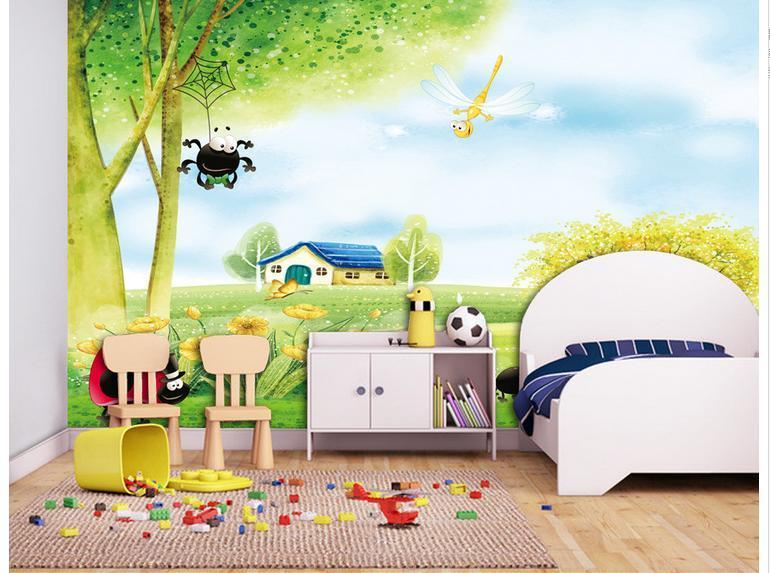 Vẽ tranh tường phòng ngủ tạo nên không gian mới lạ