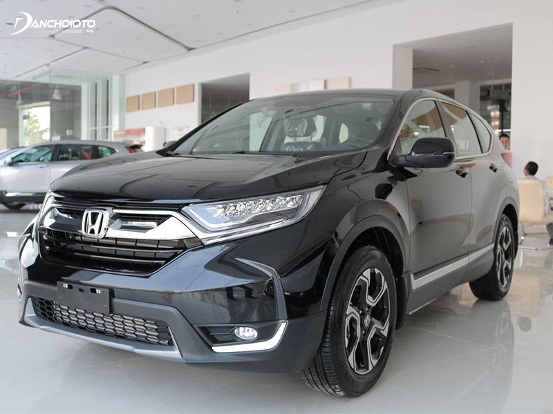 Vẻ ngoài mạnh mẽ và sang trọng của xe ô tô Honda CR-V 2019
