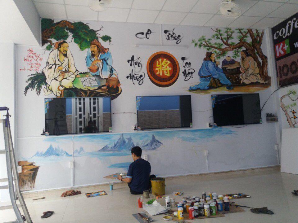 Vẽ tranh tường gồm những loại nào